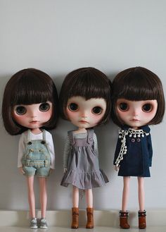 ♥ by Simmi, via flickr  Three adorbsies!!