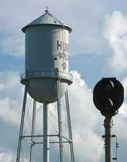 The old water tower, go Wildcats!