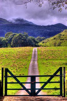 Country road take me home ...