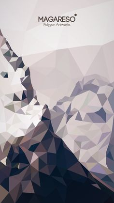 """""""MOUNT""""  Illustrations by Magareso  #Polygon Art"""