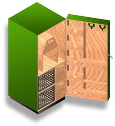 Elite Tack Design - Total Tack Cabinet, Low-cost, Simple-to-build, Tack Cabinet Plans - http://www.homedecoz.com/home-decor/elite-tack-design-total-tack-cabinet-low-cost-simple-to-build-tack-cabinet-plans/