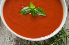 Healthy Low Calorie Recipe for Tomato Soup