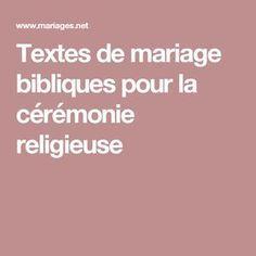 Textes de mariage bibliques pour la cérémonie religieuse Perfect Wedding, Dream Wedding, Wedding Day, Wedding Themes, Wedding Tips, Grand Jour, Weddings, Deco Table, Engagement