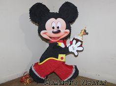 Mickey Piñata.. by Marlenespinatas on Etsy