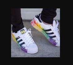 los angeles f3f12 d027f Adidas Originals Superstar Pride Pack Where can I buy these shoes that ship  to the UK