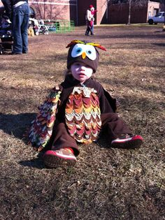 homemade owl costume - by Emily Murphy Pottery Blog