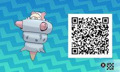 Pokémon Sol y Luna - 038 - Mega Slowbro Pokemon Moon Qr Codes, Code Pokemon, Play Pokemon, Pokemon Fan Art, New Pokemon, Pokemon Games, Pokemon Stuff, Tous Les Pokemon, Alex Craft