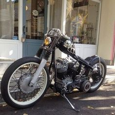 Harley Davidson Shovelhead By Luck Motorcycles