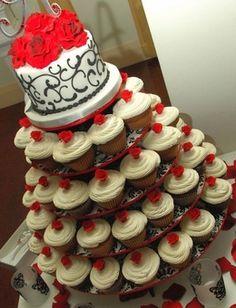 The Original Cupcake Tree - Round ( up to 100 cupcakes)