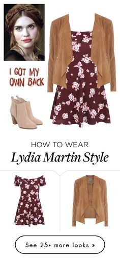 """Lydia Martin"" by fandomtrash4ever on Polyvore featuring New Look, Michael Kors, Dorothy Perkins, TeenWolf, LydiaMartin and tw"