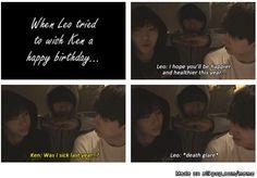 VIXX Ken and Leo lol