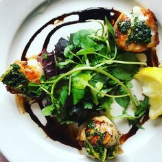 #weightloss #foodie #fitfoods Beautiful fresh from the sea scallops. Topped with a beautiful gremolata. #food #nomnom #eat #healthylivingjunkie #weightwatchers #paleodiet #realfood #nutrition #eatclean #fitness #organic #health #healthy #paleo #healthyliving