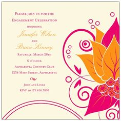engagement party invitations - Google Search