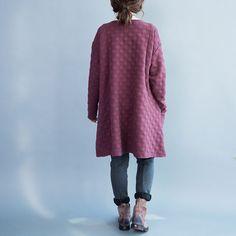 women leisure loose cotton thicken tops/women loose by babyangella