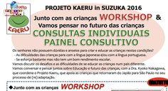 Para oferecer informações aos pais e crianças na (re)adaptação em escolas no Brasil, será realizado o Projeto Kaeru em Suzuka.
