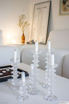 Candle Arrangements, Home Candles, Scandinavian Home, Home Staging, Home Decor Styles, Home Projects, Home And Living, Interior Inspiration, Home Goods