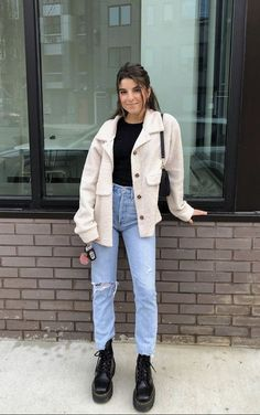 Winter Fashion Outfits, Fall Winter Outfits, Look Fashion, Spring Outfits, Cold Weather Outfits, Mode Outfits, New Outfits, Mode Hipster, Look Retro