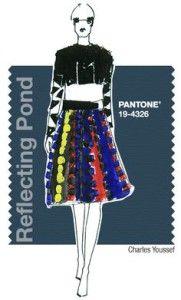 Fall 2015 - fashion colors: Reflecting pond