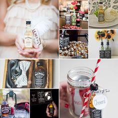 Jack Daniels has quite the cult following and generally makes an appearance at most weddings celebrations