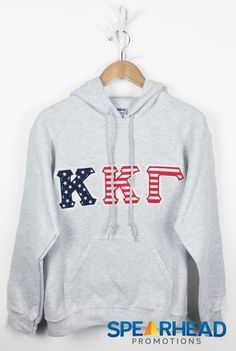 Kappa Kappa Gamma American Flag Letter by SpearheadPromotions