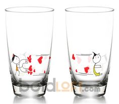 You're Irresistible, Drinking Glass Set, Cute Romantic Gift, Anniversary, Valentines Day