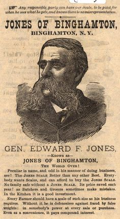 Jones Of Binghamton, Binghamton, N. Y.
