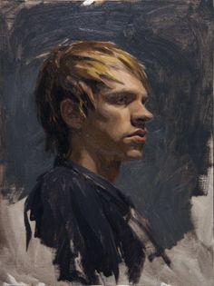 Sean Cheetham - NOAH alla prima painting, 2008