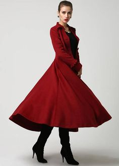 Custom Made Etsy Wool Princess Coat