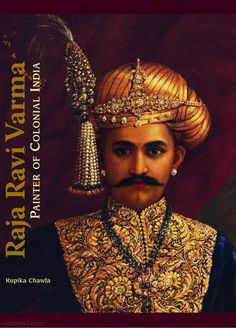 ravi varma self portrait
