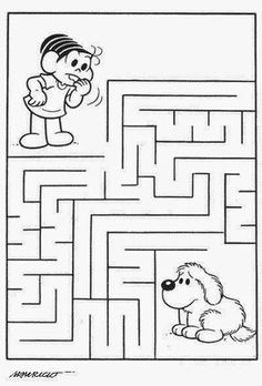 Free preschool printable and online activities, crafts, coloring pages for toddlers, preschoolers, kids activities and daycare. Fun Worksheets For Kids, Mazes For Kids, Preschool Worksheets, Preschool Activities, Maze Puzzles, Free Preschool, Kids Education, Book Activities, Coloring Pages