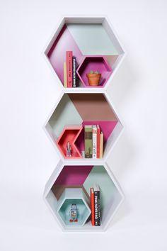 PANAL by APOTEMA Bookshelf and display www.apotema.mx
