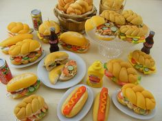 Dollhouse Miniature Sandwiches | Flickr - Shay Aaron