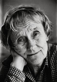 Astrid Lindgren (1907 - 2002), beloved Swedish author, creator of the unforgettable Pippi Longstocking.