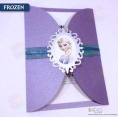 Frozen Invitation   Invitación Frozen   www.facebook.com/revesbywr