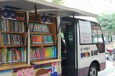 Bibliobus made in Korea