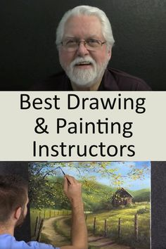 Recommended drawing and painting instructors for learning FREE online. Oil Painting Lessons, Acrylic Painting Techniques, Painting Videos, Art Techniques, Painting Pictures, Doodle Art Drawing, Painting & Drawing, Canson, Learn To Paint