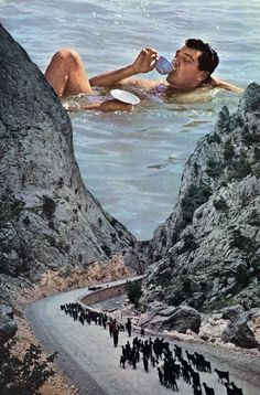 "Saatchi Art Artist Mikhail Siskoff; Collage, ""To the Sea"" #art"