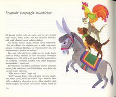 """Katariina VIljamaa-Rissanen's illustration from """"Suuri Satukirja""""(1970) (=The Great book of Fairytales)"""