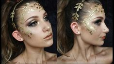 Goddess Halloween Makeup Tutorial