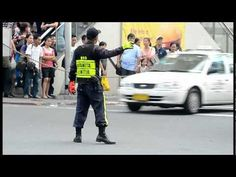 Dancing Traffic Enforcer