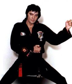 Elvis was Kenpo black belt