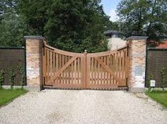 Afbeeldingsresultaat voor houten poorten