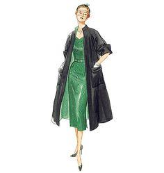 V1137.  V1137 Misses' Coat, Dress and Belt Average  (About Sewing Ratings)