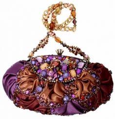 Mary Frances Love the colors Mary Frances Purses, Mary Frances Handbags, Beaded Purses, Beaded Bags, Beaded Jewelry, Vintage Purses, Vintage Bags, Embroidered Bag, Purses And Handbags