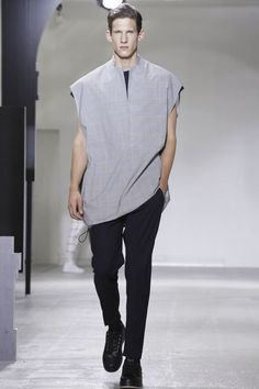 3.1 Phillip Lim Menswear Spring Summer 2015 Paris - Botond Cseke, my favorite ugly model.  He works the clothes.