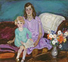 Sisters, the girls Servatius Jan Sluijters Oil on canvas Maurice Denis, Edouard Vuillard, Post Impressionism, Impressionist, Henri Matisse, Xi Pan, Art Eras, Gauguin, Dutch Painters