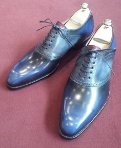 Septieme Largeur Saddle Shoe Patina http://www.theshoesnobblog.com/
