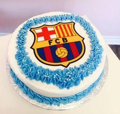 Barcelona FC Birthday Cake #DvasCakes