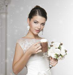 Ślubne kolczyki soutache! Pięknie migoczą dzięki kryształkom Swarovskiego i cyrkoniom.   Do kupienia w sklepie internetowym Madame Allure.