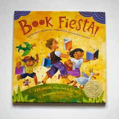 One of our favorite bilingual (english / spanish) picture book. (we love everything by Pat Mora) And one of the absolute best kids books illustrators, Rafael Lopez!